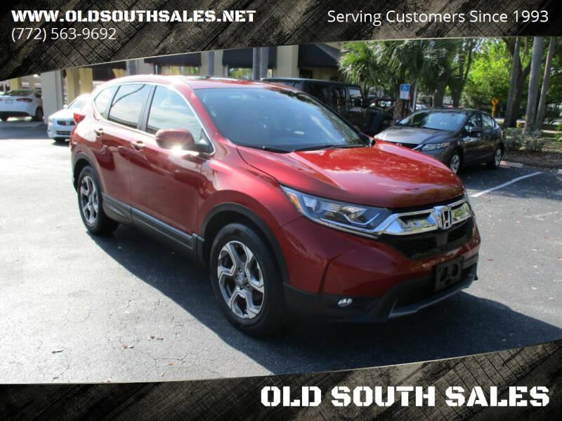 2017 Honda CR-V for sale at OLD SOUTH SALES in Vero Beach FL