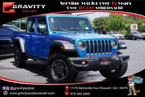 2020 Jeep Gladiator for sale at Gravity Autos Roswell in Roswell GA