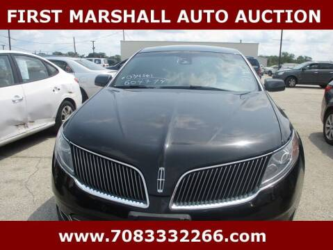 2015 Lincoln MKS for sale at First Marshall Auto Auction in Harvey IL