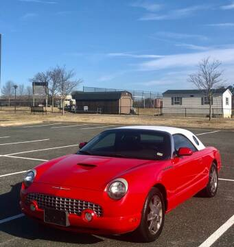 2002 Ford Thunderbird for sale at ONE NATION AUTO SALE LLC in Fredericksburg VA