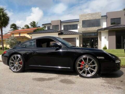 2009 Porsche 911 for sale at Lifetime Automotive Group in Pompano Beach FL