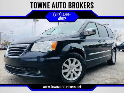 2011 Chrysler Town and Country for sale at TOWNE AUTO BROKERS in Virginia Beach VA