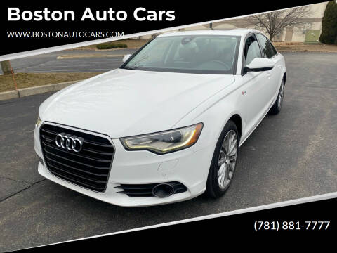2014 Audi A6 for sale at Boston Auto Cars in Dedham MA