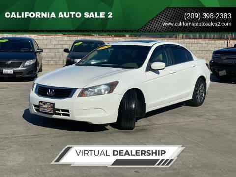 2010 Honda Accord for sale at CALIFORNIA AUTO SALE 2 in Livingston CA