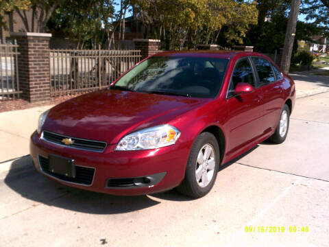 2010 Chevrolet Impala for sale at Fred Elias Auto Sales in Center Line MI