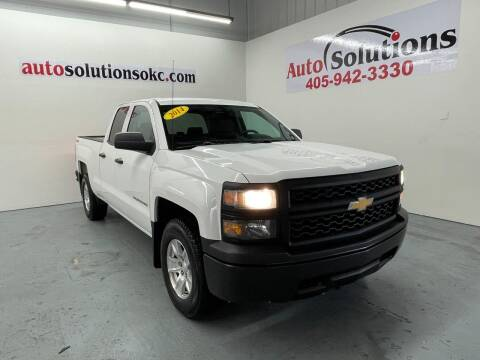 2014 Chevrolet Silverado 1500 for sale at Auto Solutions in Warr Acres OK
