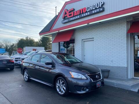 2014 Nissan Sentra for sale at AG AUTOGROUP in Vineland NJ