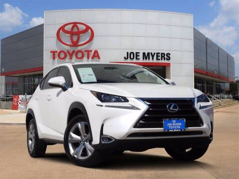 2017 Lexus NX 200t for sale at Joe Myers Toyota PreOwned in Houston TX