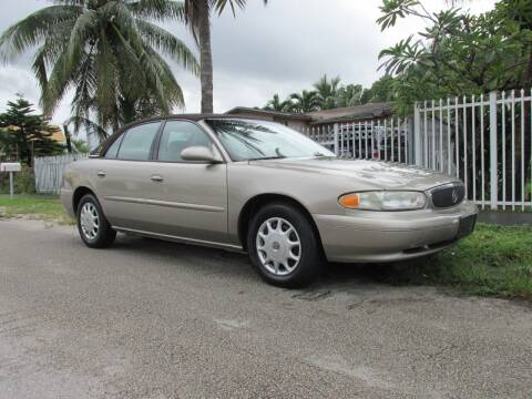 2003 Buick Century for sale at TROPICAL MOTOR CARS INC in Miami FL