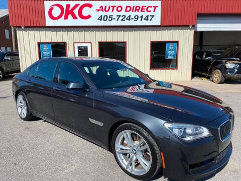 2013 BMW 7 Series for sale at OKC Auto Direct in Oklahoma City OK