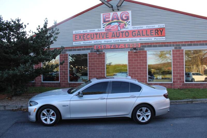 2013 BMW 5 Series for sale at EXECUTIVE AUTO GALLERY INC in Walnutport PA