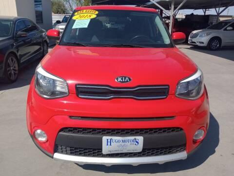 2018 Kia Soul for sale at Hugo Motors INC in El Paso TX