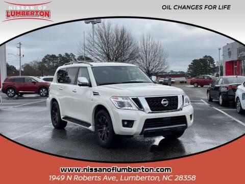 2020 Nissan Armada for sale at Nissan of Lumberton in Lumberton NC