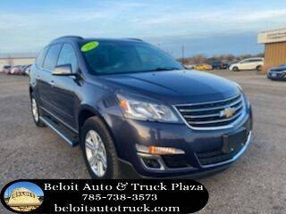 2013 Chevrolet Traverse for sale at BELOIT AUTO & TRUCK PLAZA INC in Beloit KS