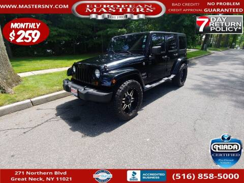 2011 Jeep Wrangler Unlimited for sale at European Masters in Great Neck NY