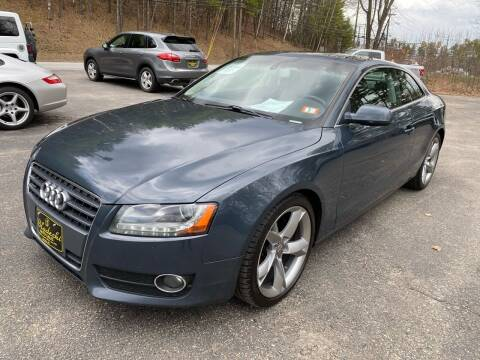 2010 Audi A5 for sale at Bladecki Auto LLC in Belmont NH