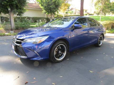 2016 Toyota Camry for sale at E MOTORCARS in Fullerton CA