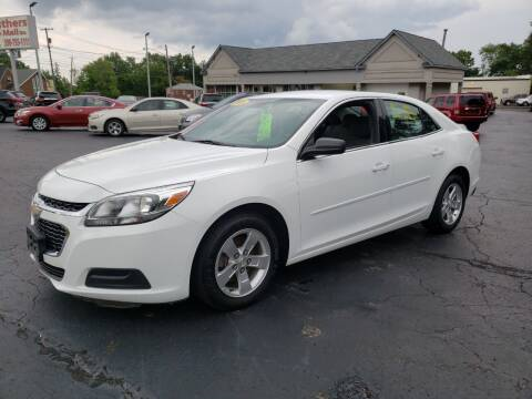 2016 Chevrolet Malibu Limited for sale at STRUTHER'S AUTO MALL in Austintown OH