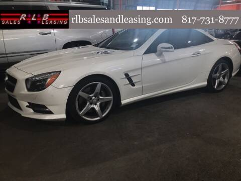 2014 Mercedes-Benz SL-Class for sale at RLB Sales and Leasing in Fort Worth TX