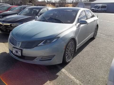 2013 Lincoln MKZ Hybrid for sale at Gilliam Motors Inc in Dillwyn VA