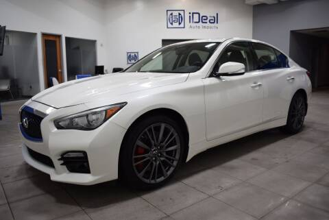 2017 Infiniti Q50 for sale at iDeal Auto Imports in Eden Prairie MN