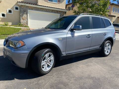 2006 BMW X3 for sale at CALIFORNIA AUTO GROUP in San Diego CA