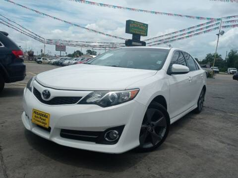 2012 Toyota Camry for sale at Pasadena Auto Planet in Houston TX