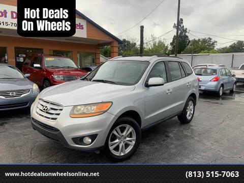 2010 Hyundai Santa Fe for sale at Hot Deals On Wheels in Tampa FL