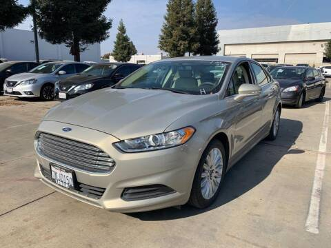 2015 Ford Fusion Hybrid for sale at CENTURY MOTORS in Fresno CA