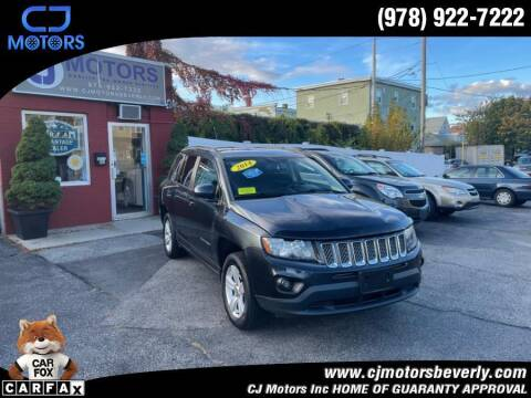2014 Jeep Compass for sale at CJ Motors Inc. in Beverly MA