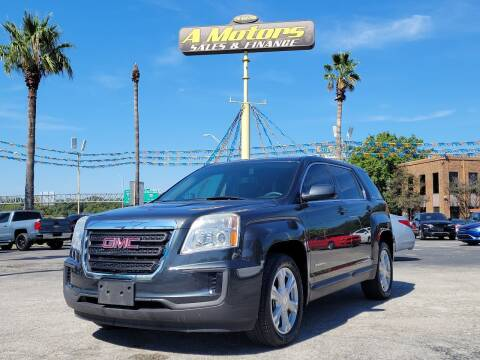 2017 GMC Terrain for sale at A MOTORS SALES AND FINANCE - 5630 San Pedro Ave in San Antonio TX