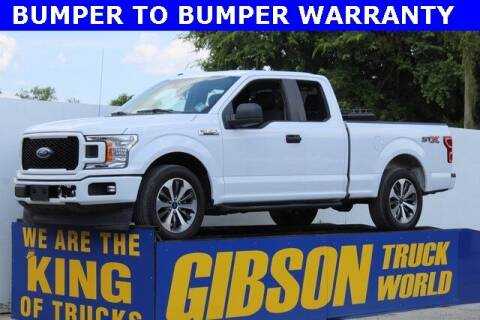 2019 Ford F-150 for sale at Gibson Truck World in Sanford FL