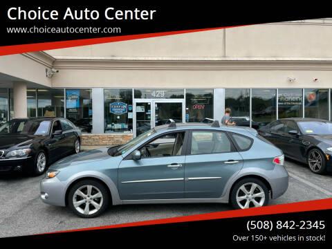 2010 Subaru Impreza for sale at Choice Auto Center in Shrewsbury MA