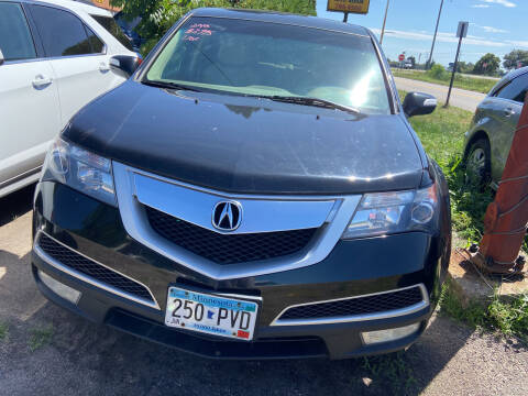2010 Acura MDX for sale at Northtown Auto Sales in Spring Lake MN