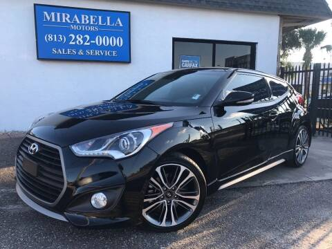 2016 Hyundai Veloster Turbo for sale at Mirabella Motors in Tampa FL