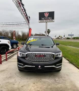 2018 GMC Acadia for sale at A & V MOTORS in Hidalgo TX