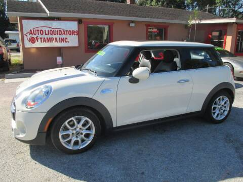 2015 MINI Hardtop 2 Door for sale at Auto Liquidators of Tampa in Tampa FL