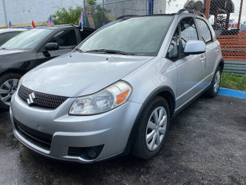 2010 Suzuki SX4 Crossover for sale at INTERNATIONAL AUTO BROKERS INC in Hollywood FL
