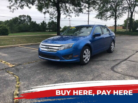 2011 Ford Fusion for sale at Stryker Auto Sales in South Elgin IL