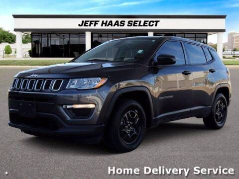 2018 Jeep Compass for sale at JEFF HAAS MAZDA in Houston TX