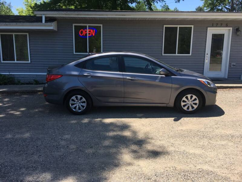 2017 Hyundai Accent for sale at Winwood Auto Sales in Farwell MI