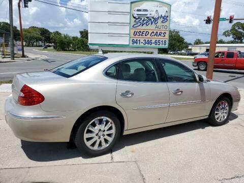 2008 Buick LaCrosse for sale at Steve's Auto Sales in Sarasota FL