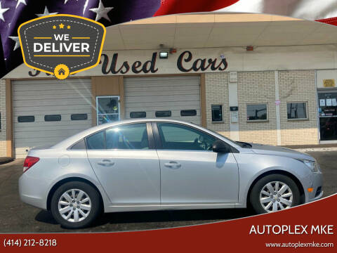 2011 Chevrolet Cruze for sale at Autoplexwest in Milwaukee WI