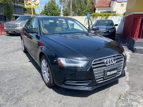 2013 Audi A4 for sale at Crown Auto Inc in South Gate CA