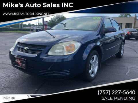 2008 Chevrolet Cobalt for sale at Mike's Auto Sales INC in Chesapeake VA