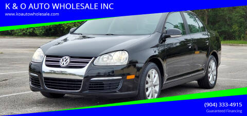 2010 Volkswagen Jetta for sale at K & O AUTO WHOLESALE INC in Jacksonville FL
