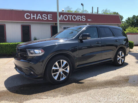 2015 Dodge Durango for sale at Chase Motors Inc in Stafford TX