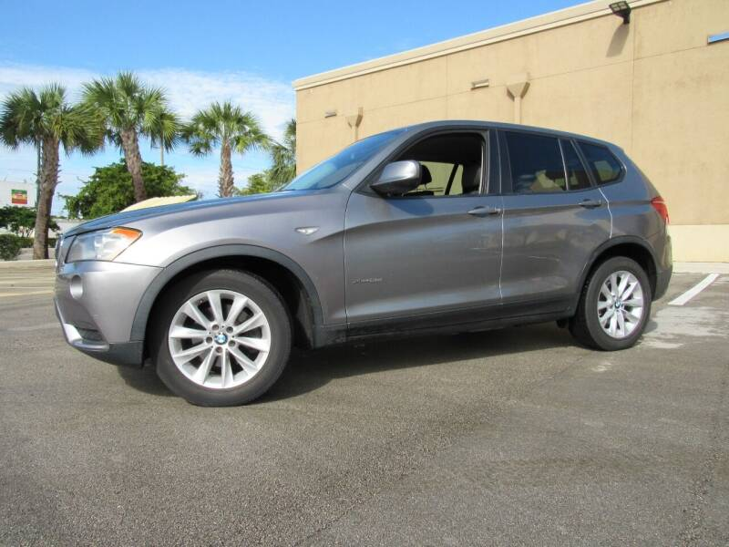 2013 BMW X3 for sale at Easy Deal Auto Brokers in Hollywood FL