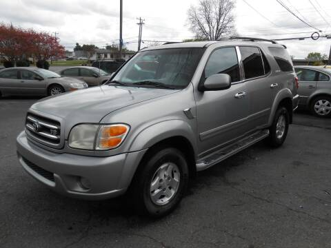 2001 Toyota Sequoia for sale at Granite Motor Co 2 in Hickory NC