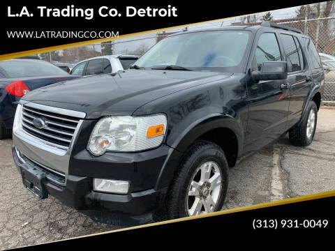 2010 Ford Explorer for sale at L.A. Trading Co. Detroit in Detroit MI